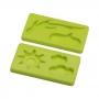 Juego de 2 moldes de Silicona Naturaleza
