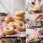 Molde para Donuts de Acero 6 Cavidades