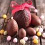 Set de 2 Moldes para Chocolate Huevo de Pascua 8,7 cm