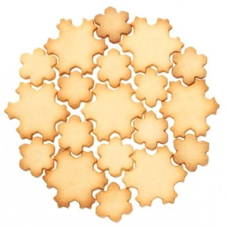Multi cortador de galletas copos de nieve