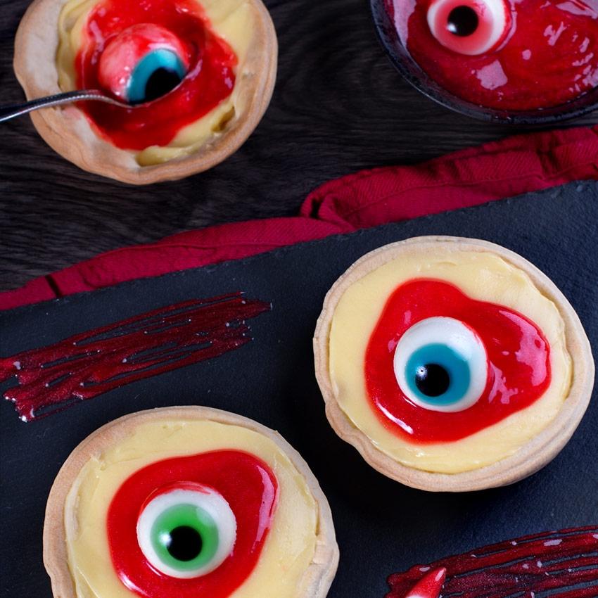 Set de 4 ojos tenebrosos grandes - My Karamelli