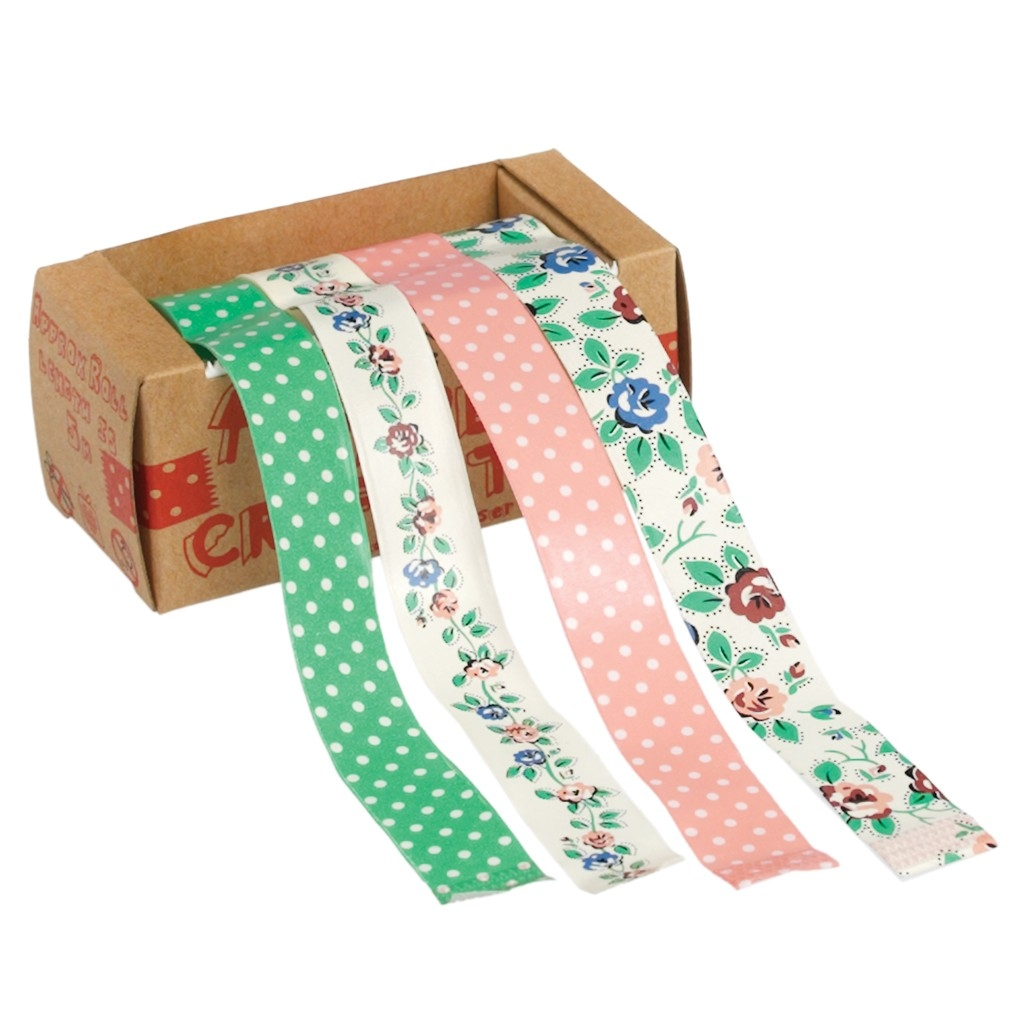 Pack de 4 cintas Rambling Rose