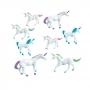 Pack 8 Figuras Unicornio Multicolor