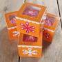 Pack de 4 Cajas para 1 cupcake Flower Power