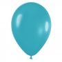 Pack de 10 globos de látex color turquesa