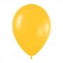 Pack de 100 Globos Amarillo Girasol 12 cm