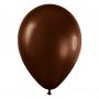 Pack de 100 Globos Color Chocolate 12 cm