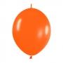 Pack de 25 Globos Linkoloon Naranjas 30 cm