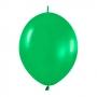 Pack de 25 Globos Linkoloon Verdes 30 cm