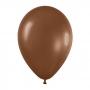 Pack de 50 globos chocolate mate