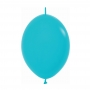 Pack de 50 Globos Link O Loon Azules 12 cm