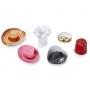 Pack de 6 mini sombreros de Fiesta Adultos