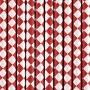 Pack de 10 Pajitas de Papel Rombos Rojos