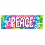 Decoración de pared Hippie - Peace