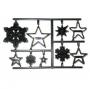 Patchwork cutter Copos de nieve y estrellas