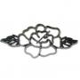 Patchwork cutter open rose