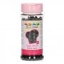 Perlas de Azúcar Negro Brillante