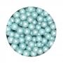 Perlas de Azúcar Azul Nacarado 6 mm