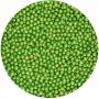 Perlas metálizadas verdes Funcakes