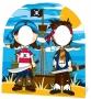 Photocall Piratas Infantil 120 cm