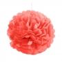 Pompón Color Rojo 25 cm