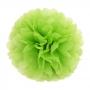 Pompón de Papel Color Verde Manzana 35 cm