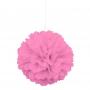 Pompón Rosa 40 cm