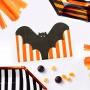 Juego de 20 Servilletas Murciélago Halloween 17 cm