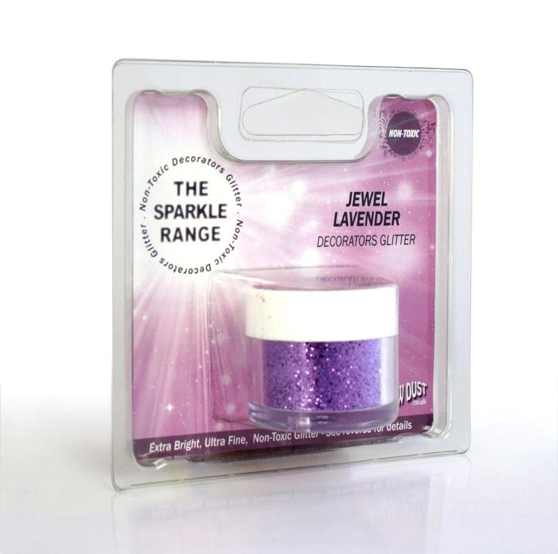 Purpurina decorativa Jewel Lavender