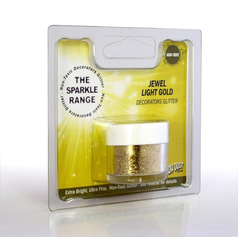 Purpurina decorativa Jewel Light gold