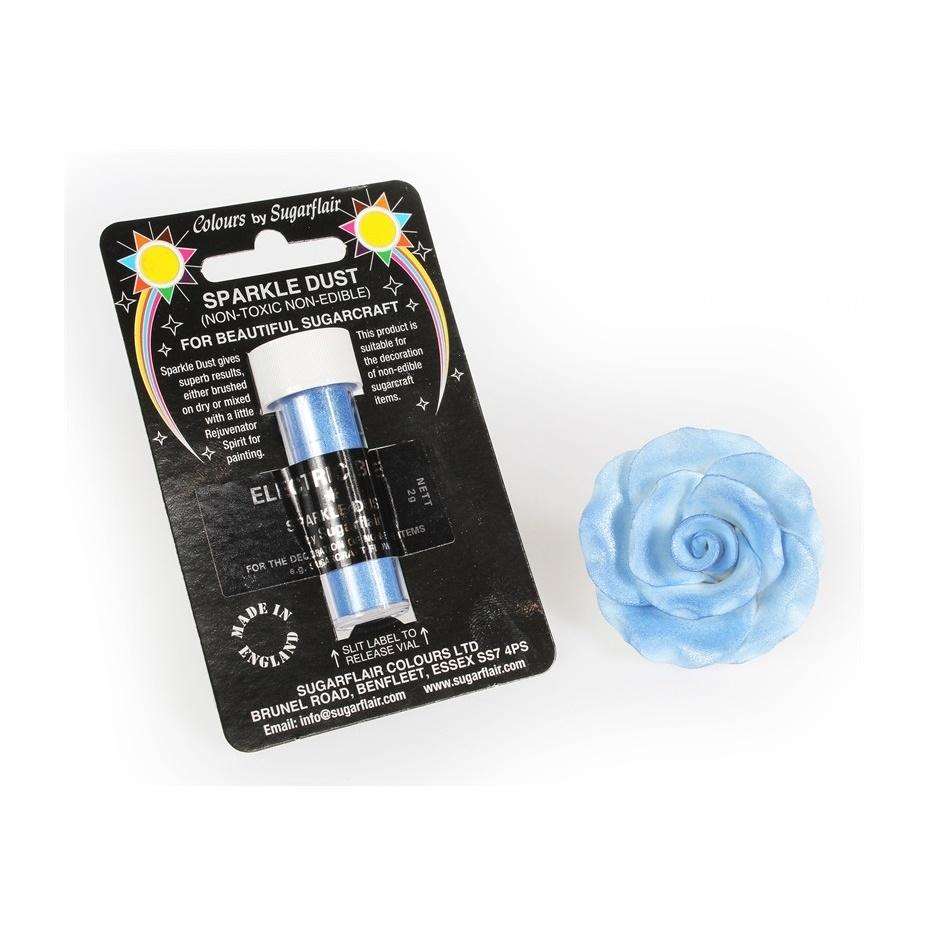 Purpurina Sugarflair Electric Blue