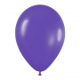 Pack de 10 globos de látex Violeta mate