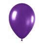 Pack de 10 globos de látex violeta metalizado