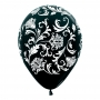 Pack de 10 globos damasco