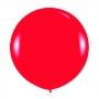 Globo gigante rojo