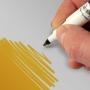 Rotulador comestible doble punta color Oro oscuro