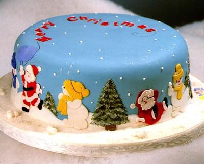 Patchwork cutter Santa & Snowman