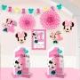 Set 10 Piezas Decoración Minnie Mouse 1 año