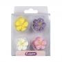 Set 12 flores de azúcar