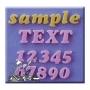 Set 3 moldes de silicona letras y números modelo cookie