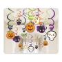 Set 30 Piezas Decoración Colgante Halloween