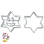 Juego de cortadores Estrella Sonriente