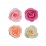 Set de 10 Rosas de Azúcar Surtidas 5 cm