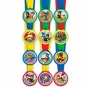 Set de 12 Medallas Patrulla Canina