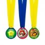 Set de 12 Medallas Super Mario