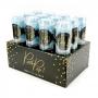 Set de 12 Push Pop Confetti Azul Mix