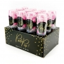 Set de 12 Push Pop Confetti Rosa Mix