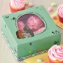 Set de 2 Cajas para Cupcakes y Dulces Pascua