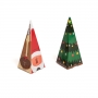 Set de 2 Conos para Chuches Navidad 13 cm