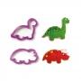 Set de 2 Cortadores Dinosaurios Modelo 1
